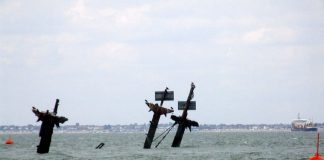 3,000 ton timebomb shipwrecked in the Thames estuary