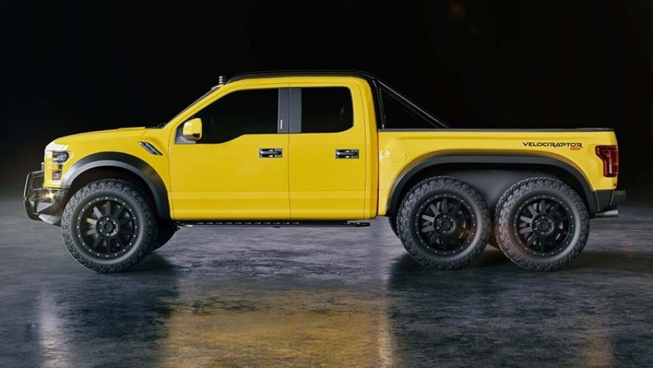 Hennesssey VelociRaptor 6×6 Ford F-150 will have you seeing double (Report) | Star Mag