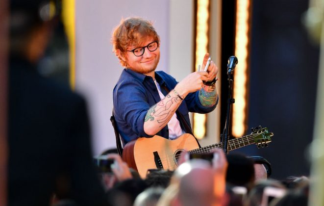 Ed Sheeran will dance with naked OAPs on this weeks
