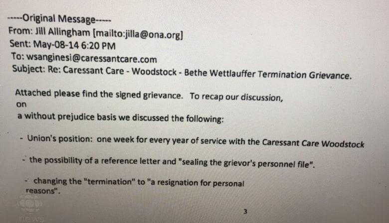 Caressant Care Woodstock Ont News