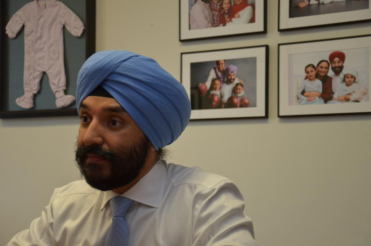 Navdeep Bains says a conversation with his young daughters about bullying led him to the realization that he should take part in this weekend's Pride parade in Toronto.