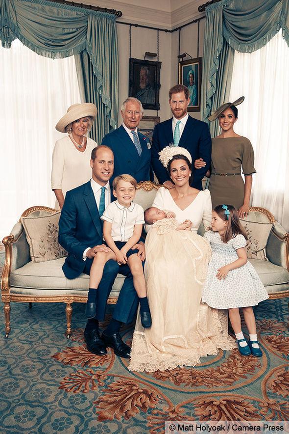 Prince Louis christening Kate Middleton Meghan