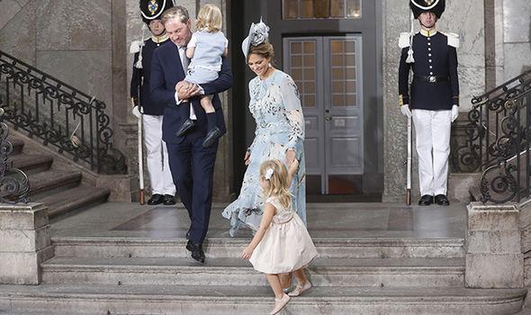 Princess Madeleine Chris O'Neill