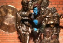David Bowie Statue Vandalised For Second Time In 6 Months
