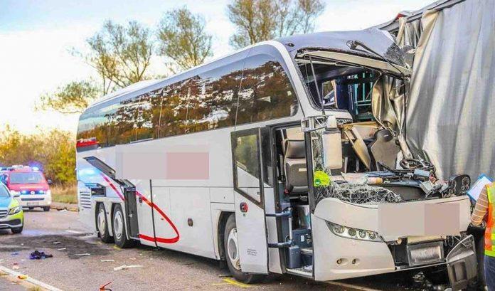 Germany bus crash: Reports Australians among injured