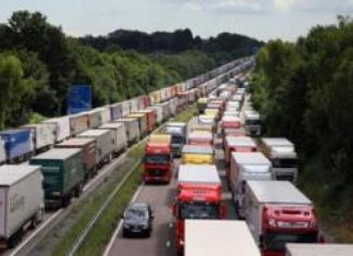 M26 shut overnight Due to Brexit