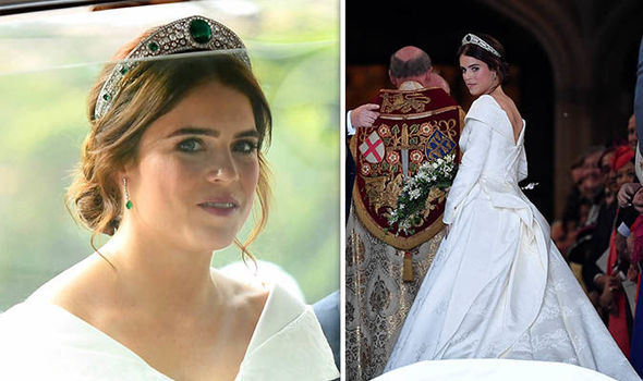 Princess Eugenie's dress: First picture of Peter Pilotto gown (Photo)