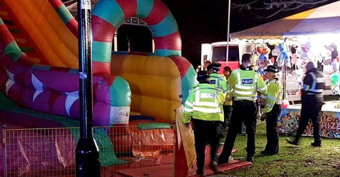 Inflatable slide collapses: Eight children injured, Report