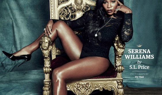 Serena Williams' GQ cover sparks controversy (Photo)