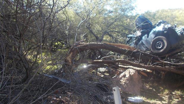 Woman survives Six days in Arizona desert after car crash