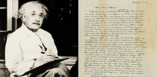 Einstein's God Letter auctioned for $3m, Report