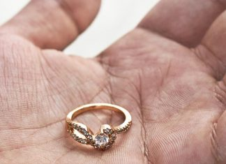 Wedding ring flushed down toilet 9 years ago, resurfaces thanks to city employee