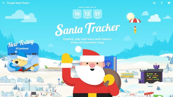 Where is Santa: Santa Claus is coming to town!