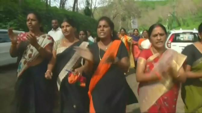 A '620km Human Chain', Indian Women Rally for Equality (Picture)