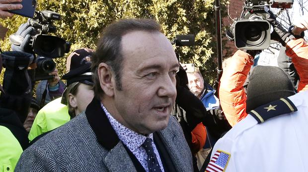 Actor Kevin Spacey pleads not guilty in sex assault case