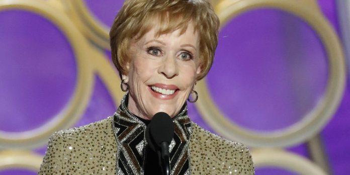 Carol Burnett's Incredibly Nostalgic Golden Globes Speech (Watch)