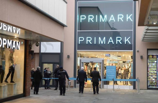 Human bone found in a pair of Primark socks at Colchester store