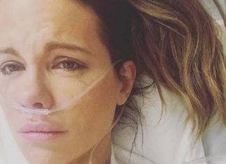 Kate Beckinsale hospitalised with ruptured ovarian cyst, Report