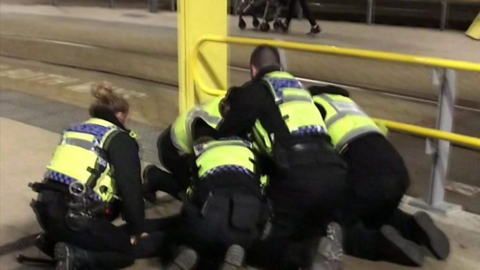 Manchester stabbing: Station remains closed as injured officer, Report