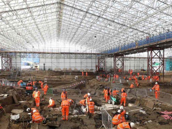 Matthew Flinders body found Buried At Euston Station
