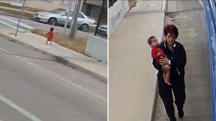 Milwaukee bus driver rescuing baby found on overpass (Watch)