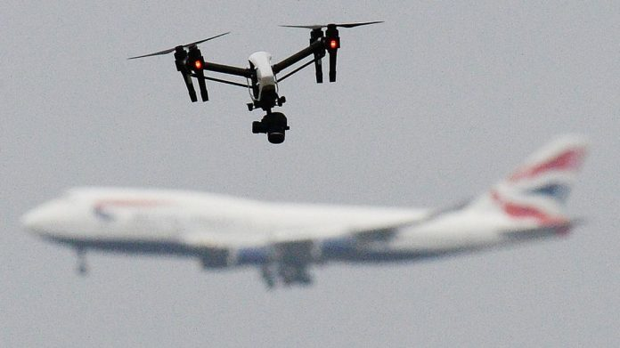 Police powers to tackle illegal use of drones, Report