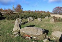 Prehistoric stone circle is actually replica built in the 1990s