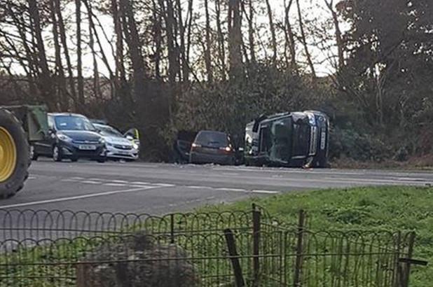 "Prince Philip car crash: The Duke was left ""shocked and shaken"""