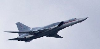 Russian supersonic bomber crashes, two crew members killed