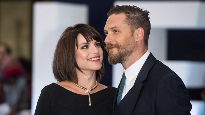 Tom Hardy Welcomes baby With Wife Charlotte Riley