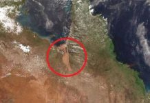A 60km-wide 'mega river' has opened up in Australia, Report