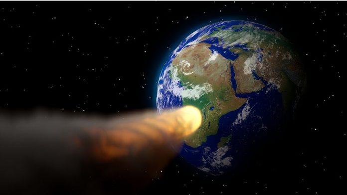 Asteroid bombardment helped create Earth's continents, new research