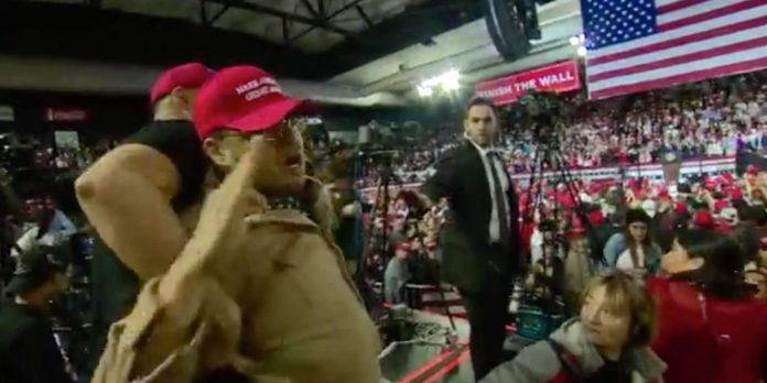 BBC cameraman attacked and abused at Trump rally in El Paso