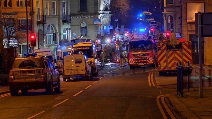 Batley explosion: Five hurt in suspected gas, Report
