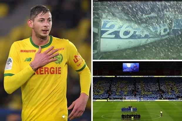 Emiliano Sala body recovered from plane carrying Cardiff striker