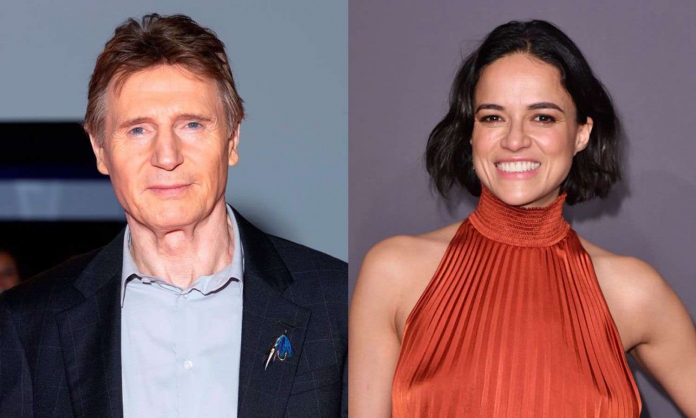 Michelle Rodriguez dragged for defending Liam Neeson, Report