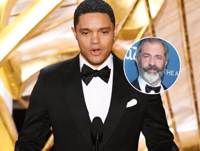 Trevor Noah slams Mel Gibson during the Oscars, Report