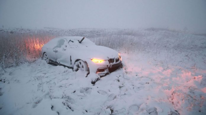 """UK Snow Warning: BRITONS are braced for a bout of """"treacherous conditions"""""""