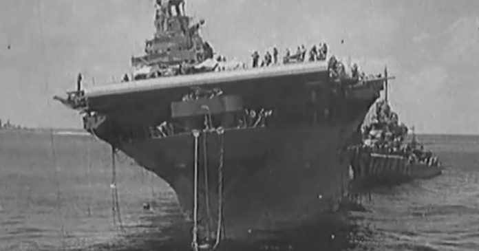 USS Hornet found in Pacific Ocean by a research vessel