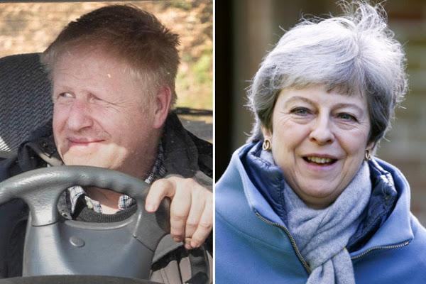 Boris Johnson slams Theresa May's 'chicken' Government, Report