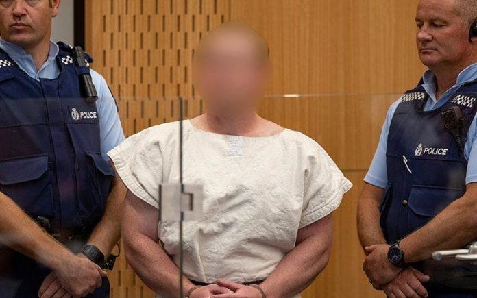 Brenton Harrison Tarrant in court, accused of killing 50 people