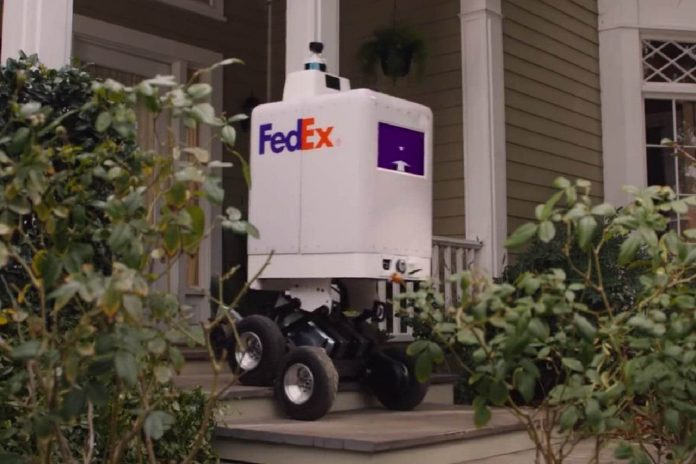 FedEx delivery robot could bring pizza to your door (Watch)