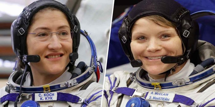 For first time spacewalk will be conducted by two female astronauts