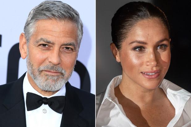 George Clooney Defends 'Wonderful, Loving' Meghan Markle, Report