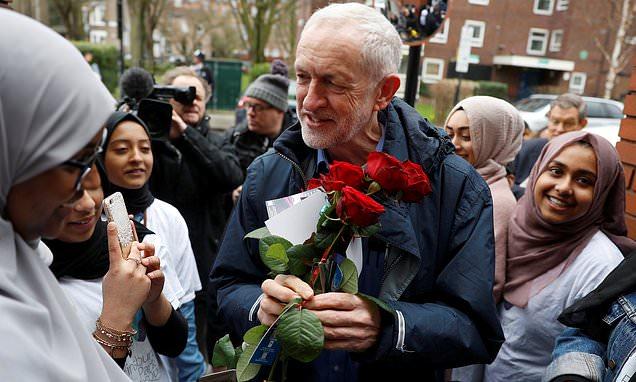 Jeremy Corbyn egg attack: Man arrested on suspicion of assault