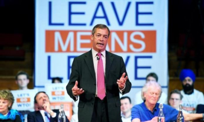 Nigel Farage to lead 260-mile march in 'Brexit betrayal' protest, Report