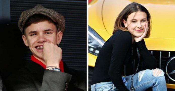 Romeo Beckham 'dating' Stranger Things star Millie Bobby Brown, Report
