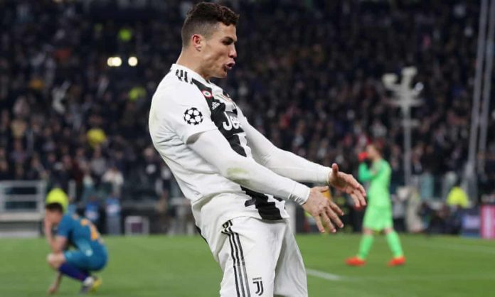 Ronaldo charged for celebration in Juventus, Report