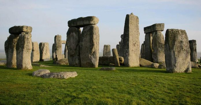 Stonehenge: feasts were all the rage, with attendees from all over Britain