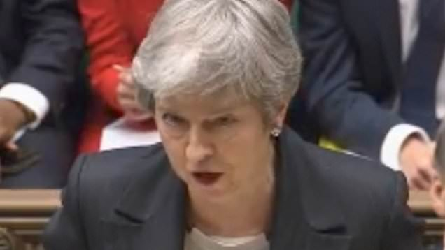 Tories blast Theresa May 'toxic blame game'